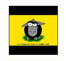 Black Sheep Gadsden Flag Art Print