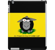 Black Sheep Gadsden Flag iPad Case/Skin