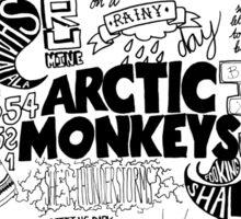Arctic Monkeys Quotes Sticker