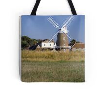 Stunning Panorama of Cley Windmill Tote Bag