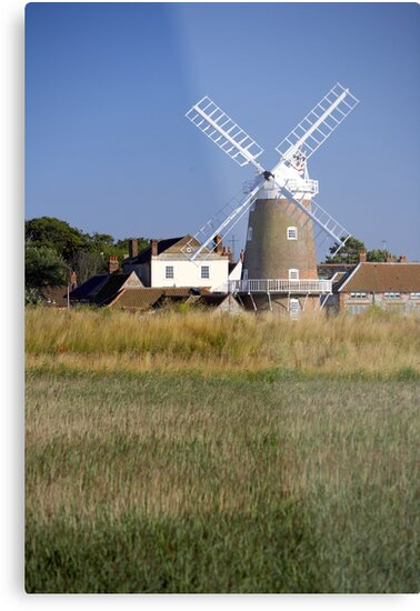 Stunning Panorama of Cley Windmill by cleywindmill