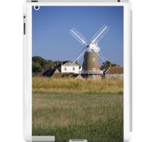 Stunning Panorama of Cley Windmill iPad Case/Skin