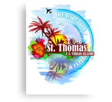 St Thomas USVI Canvas Print