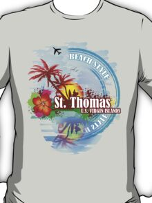 St Thomas USVI T-Shirt