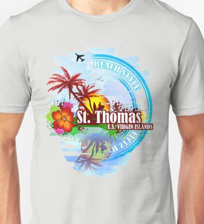 St Thomas USVI Unisex T-Shirt