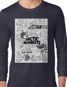 Arctic Monkeys Quotes Long Sleeve T-Shirt