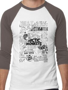 Arctic Monkeys Quotes Men's Baseball ¾ T-Shirt
