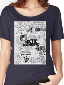 Arctic Monkeys Quotes Women's Relaxed Fit T-Shirt