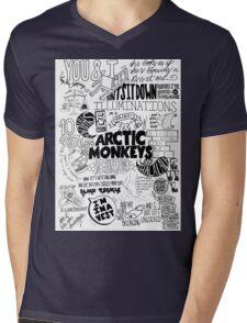 Arctic Monkeys Quotes Mens V-Neck T-Shirt