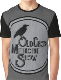 Old Crow Medicine Show Badge Graphic T-Shirt