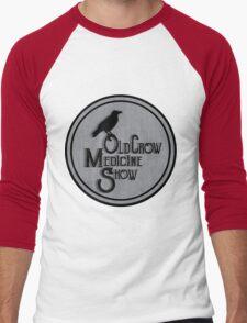 Old Crow Medicine Show Badge Men's Baseball ¾ T-Shirt