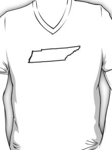 Tennessee State Outline T-Shirt
