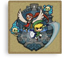 Legend of Zelda Wind Waker Earth Temple T-Shirt Canvas Print