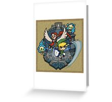 Legend of Zelda Wind Waker Earth Temple T-Shirt Greeting Card