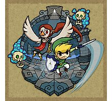 Legend of Zelda Wind Waker Earth Temple T-Shirt Photographic Print