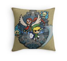 Legend of Zelda Wind Waker Earth Temple T-Shirt Throw Pillow