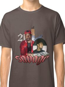 21 SAVAGE VINTAGE T SHIRT TEE HIPHOP Classic T-Shirt