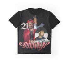 21 SAVAGE VINTAGE T SHIRT TEE HIPHOP Graphic T-Shirt