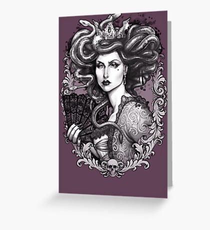 MEDUSA IMPERATRIX MUNDI Greeting Card