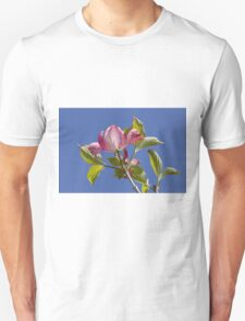 blooming magnolia flowers in spring Unisex T-Shirt