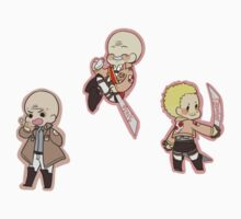 Attack on Titan Hannes, Pixis, Shadis by toifshi