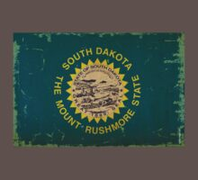 South Dakota State Flag VINTAGE by USAswagg2