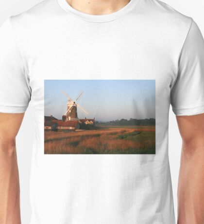 Cley Windmill at Dawn Unisex T-Shirt