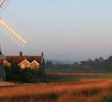 Cley Windmill at Dawn Sticker