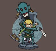 Legend of Zelda Wind Waker ReDead T-Shirt by Purrdemonium