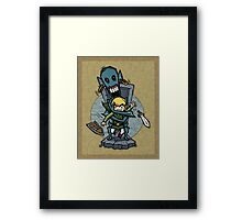Legend of Zelda Wind Waker ReDead T-Shirt Framed Print