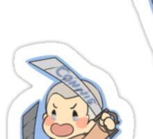 Attack on Titan Jean, Marco, Connie Sticker
