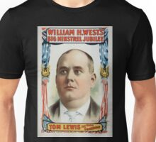 Performing Arts Posters William H Wests Big Minstrel Jubilee 1766 Unisex T-Shirt