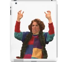 Kristen Wiig: freakin excited  iPad Case/Skin