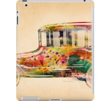 old car  iPad Case/Skin