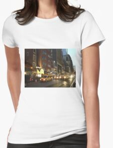 New York City- Soup Man Womens Fitted T-Shirt