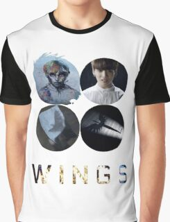 BTS-WINGS-BEGIN [WHITE] Graphic T-Shirt