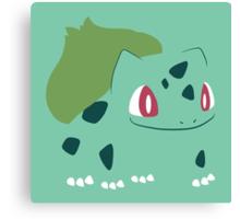 Pokemon - Bulbasaur #001 by AronGilli Canvas Print