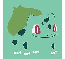 Pokemon - Bulbasaur #001 by AronGilli Photographic Print