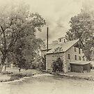 Babcock Mill - sepia by PhotosByHealy