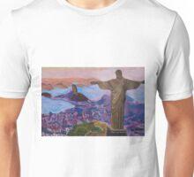 Rio De Janeiro With Christ The Redeemer Unisex T-Shirt