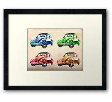 old cars  Framed Print
