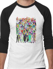 Bowie Zombies Men's Baseball ¾ T-Shirt