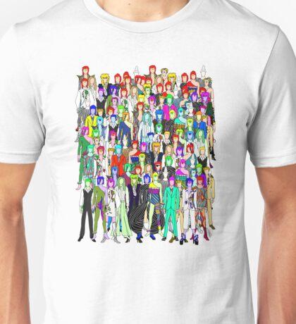 Bowie Zombies Unisex T-Shirt