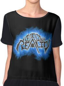 Revising Reality Illuminated Being Logo Chiffon Top