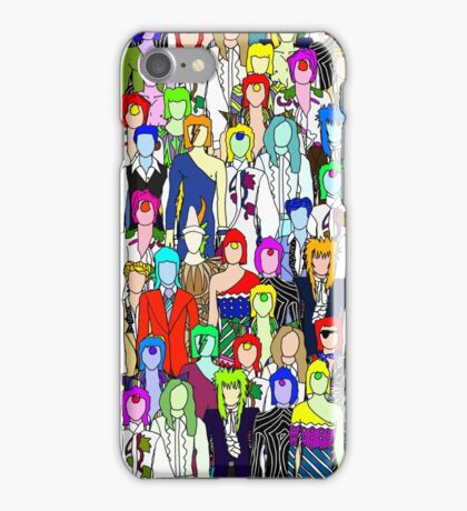 Bowie Zombies iPhone Case/Skin