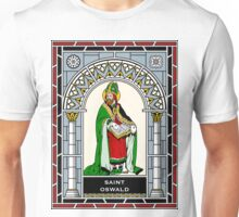 ST OSWALD under STAINED GLASS Unisex T-Shirt