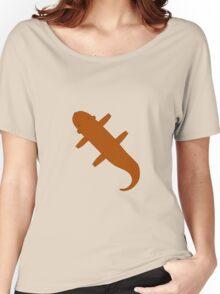 Brown Flat Carpet Otter Women's Relaxed Fit T-Shirt