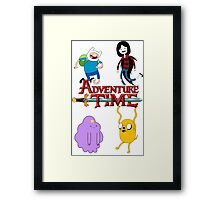 Adventure Time Classic Framed Print