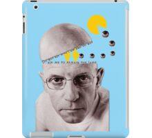 Michel Foucault iPad Case/Skin