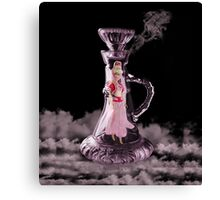 JEANNIE IN A BOTTLE..MAKE A WISH...THROW PILLOW-TOTE BAG-TABLET CASE-IPHONE COVER ECT. Canvas Print
